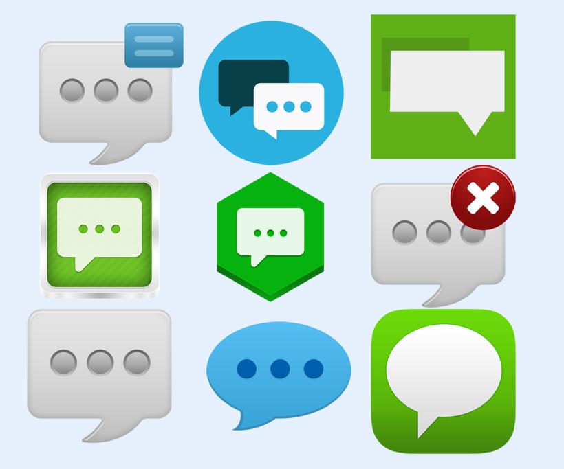 微信对话框显示png图标