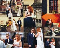 婚纱摄影的国外男女高清图片