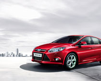 红色汽车宣传海报PSD素材