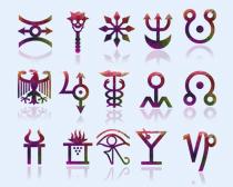 特殊符号设计PNG图标