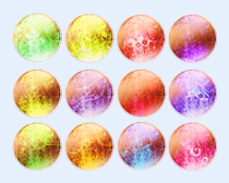炫彩水晶球PNG图标