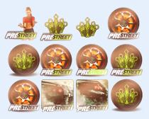个性游戏人物图标PNG图标
