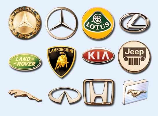各种汽车标志图标png图片素材-悍马路虎标志图片高清图片