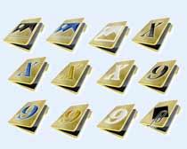 黄色的文件夹图标PNG图片素材