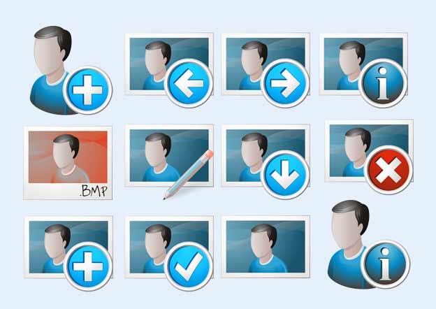 经典用户头像图标png图片素材