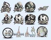 游戲中的怪物圖標PNG圖片素材