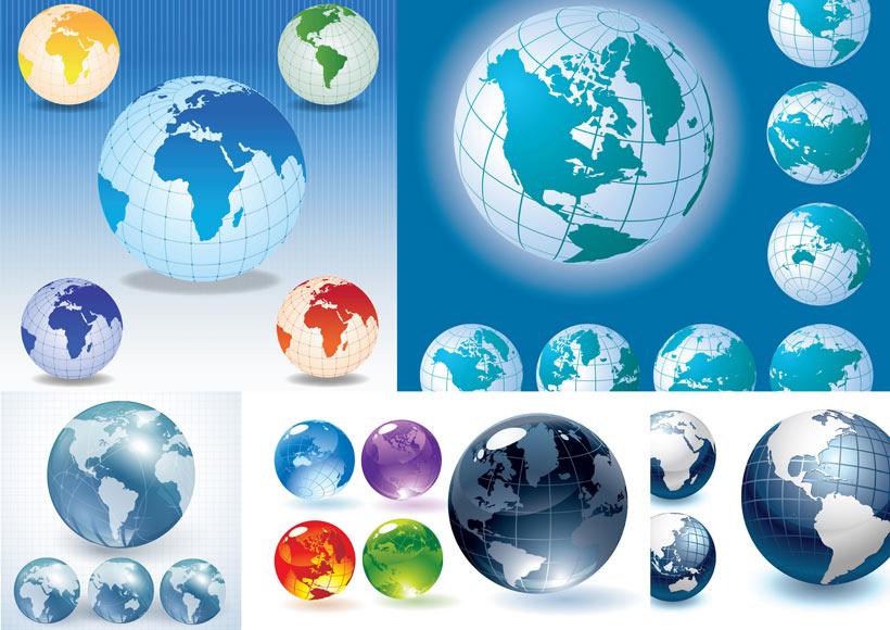 地球透明背景素材图片