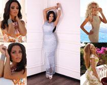 外国模特美女摄影高清图片