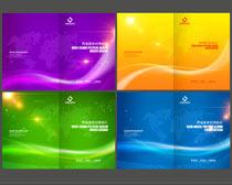 时尚科技画册封面设计PSD素材
