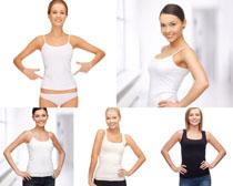 瘦身体美女摄影高清图片