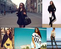 外国时装女人摄影高清图片