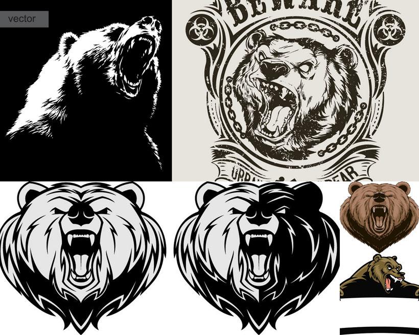 人物卡通 > 素材信息   关键字: 矢量素材熊商标手绘熊矢量熊可爱熊熊