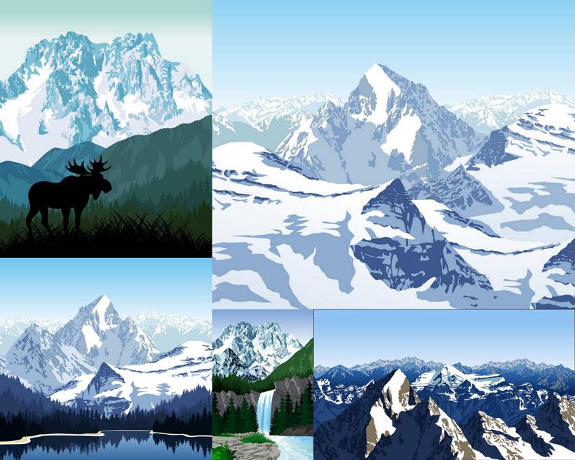山脉高山风景时时彩平台娱乐