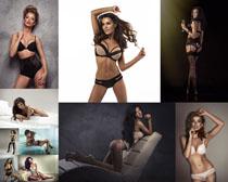 性感内衣外国模特摄影高清图片