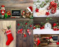 圣诞节礼物摄影高清图片