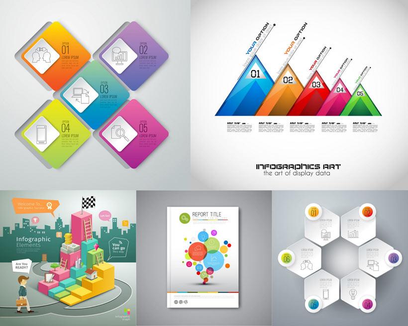 宣传单排版设计矢量素材 - 爱图网设计图片素材下载