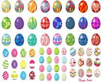 复活节彩蛋矢量素材
