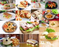 国外美食早餐摄影高清图片