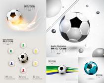 足球类运动矢量素材