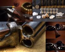 西部牛仔武器攝影高清圖片