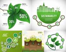 绿色环保主题风格设计矢量素材