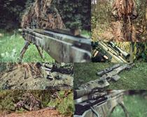野戰軍事武器攝影高清圖片