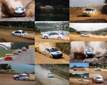 比赛的跑车摄影高清图片