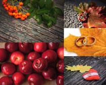 水果戒指爱情摄影高清图片