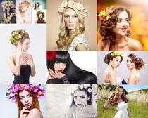 美丽的外国女子摄影高清图片