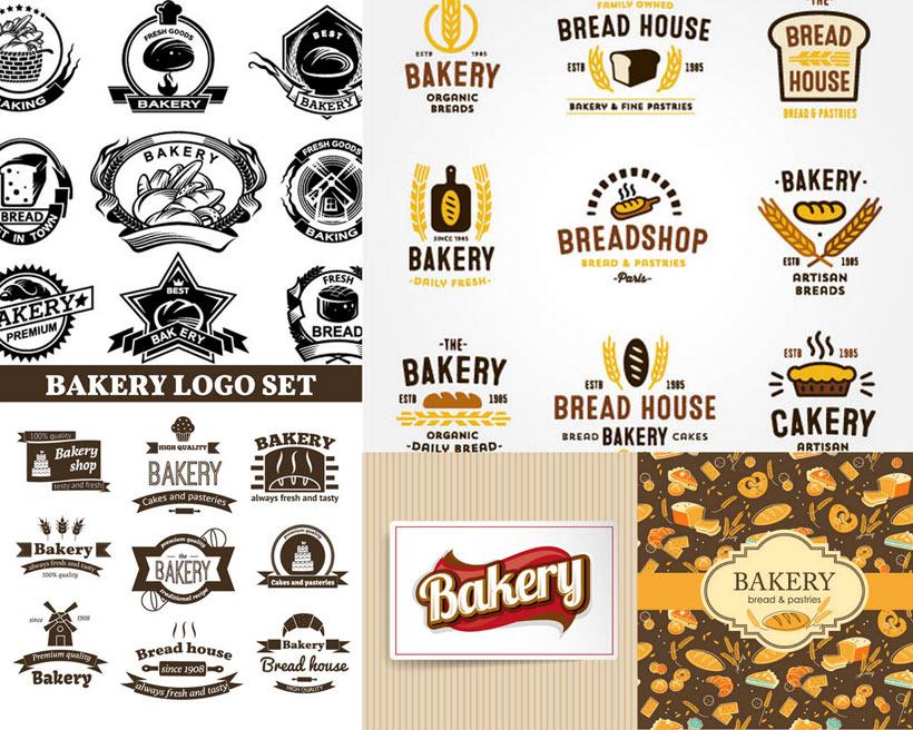 关键字: 矢量素材矢量图设计素材创意设计标签贴纸面包黑色黑白食物
