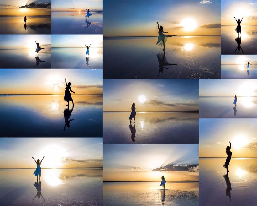 海边摄影_黄昏海边拍照的摄影师摄影高清图片大图网设