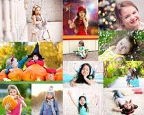 可爱的小女孩写真摄影高清图片