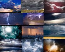 乌云闪电摄影高清图片