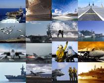 航母與戰斗機攝影高清圖片