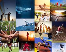 體育運動員攝影高清圖片