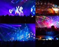 舞台灯光摄影高清图片