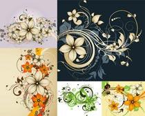 花朵花纹创意设计矢量素材