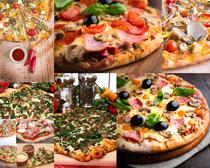 美食披萨高清写真摄影图片
