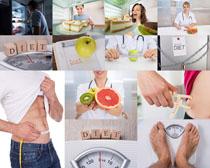 人物营养瘦身摄影高清图片