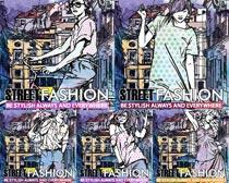 水彩鼠绘服饰裙子矢量素材