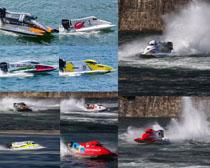 海上快艇摄影高清图片