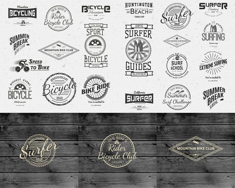 菱形logo设计矢量素材