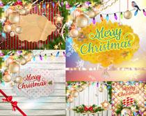 圣诞相框装饰摄影高清图片
