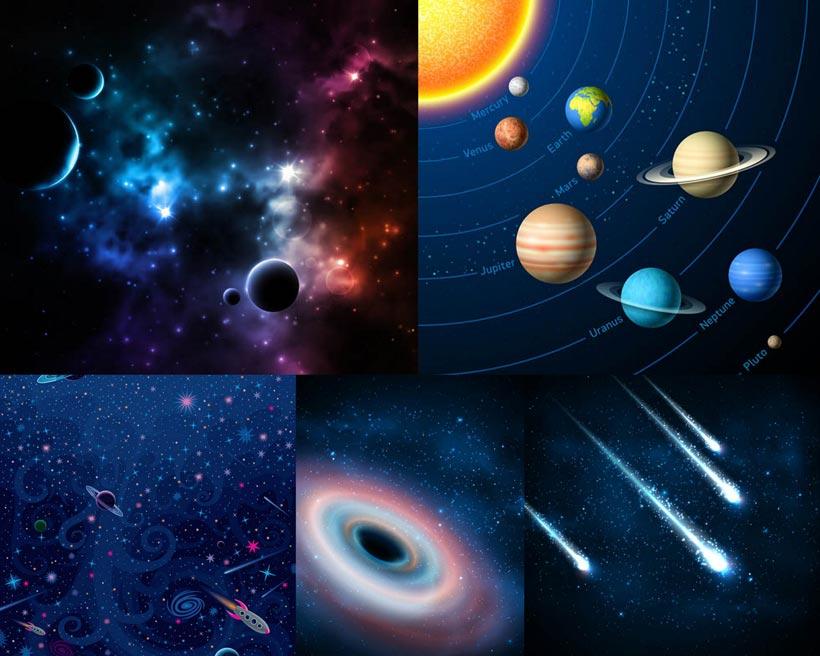 浩瀚的宇宙中的星宿时时彩平台娱乐