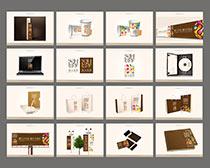 时尚企业VI设计PSD素材