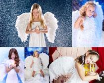 天使小姑娘摄影高清图片