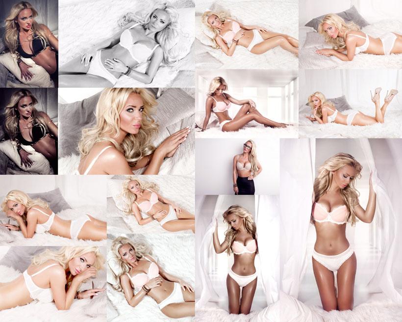 外国内衣模特美女摄影高清图片