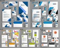 名片视觉封面设计矢量素材