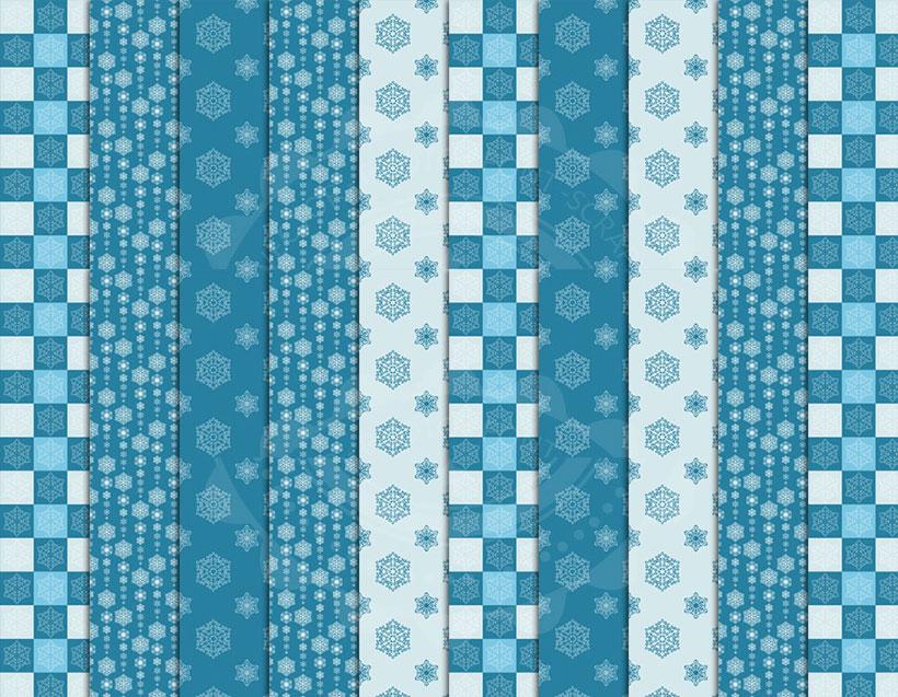 蓝色方块ps填充图案素材