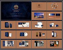 房地产广告VI设计矢量素材